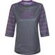 IXS Vibe 6.2 BC maglietta a maniche corte Donna viola/nero